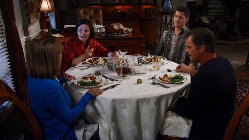 S54E164 The Quartermaine's Almost Have a Turkey Dinner