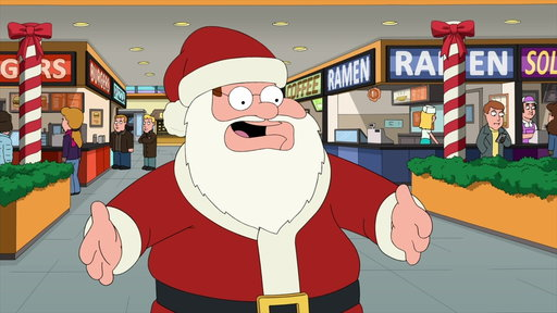 S15E9 Peter Discovers the Perks of Being Santa