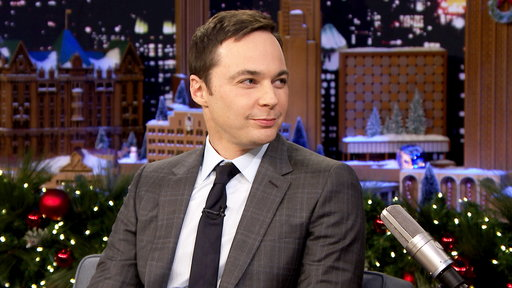 The Tonight Show Starring Jimmy Fallon S04E62 Jim Parsons, Kid Toy Experts Evan and Jillian, Dec 99th