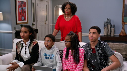 Black-ish S03E11 Their Eyes Were Watching Screens
