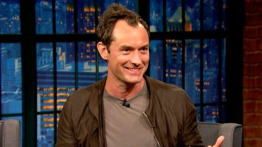 Late Night with Seth Meyers S04E51 Jude Law, Sullivan Stapleton, Action Bronson