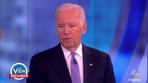 S20E83 The View Hot Topic: Joe Biden Weighs in On Clinton's Election Loss