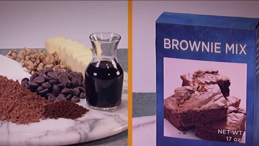 S6E87 Store Bought or Not: Walnut Brownies Recipe, Part 1