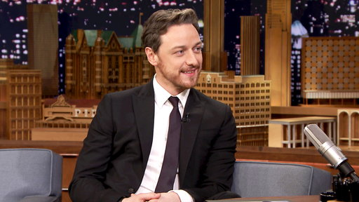The Tonight Show Starring Jimmy Fallon S04E70 James McAvoy, Nick Offerman, Kings of Leon