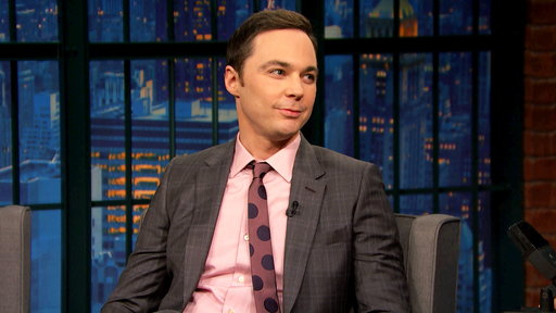 Late Night with Seth Meyers S04E55 Jim Parsons, Ben McKenzie, Jon Favreau & Dan Pfeiffer