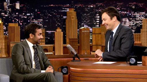 The Tonight Show Starring Jimmy Fallon S04E71 Aziz Ansari, Carrie Brownstein, Panic! at the Disco