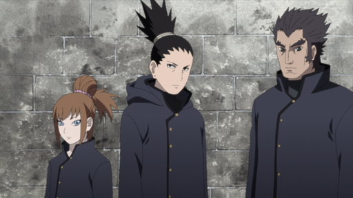 Naruto: Shippuden S09E491 (Sub) Shikamaru's Story, a Cloud Drifting in the Silent Dark, Part 3: Recklessness