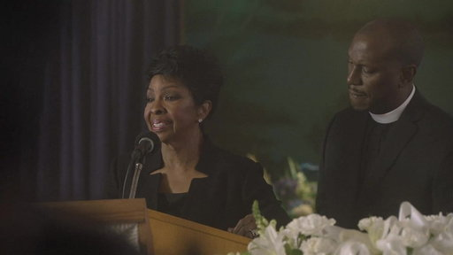 S1E7 Gladys Speaks at Danielle's Funeral
