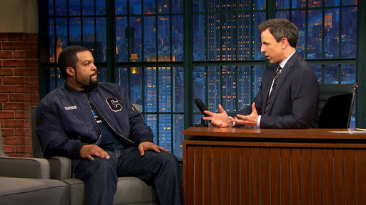 Late Night with Seth Meyers S04E66 Ice Cube, Ruby Rose, Ty Segall