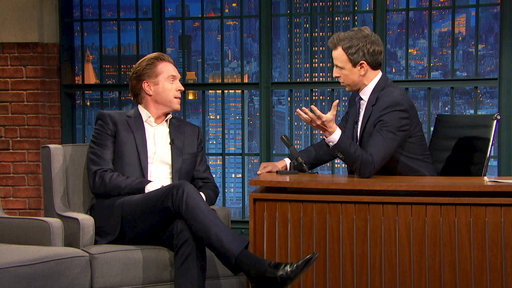 Late Night with Seth Meyers S04E70 Damian Lewis, Adam Scott, Charlotte OC