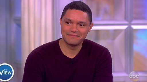 S20E107 Trevor Noah Talks Race Relations in America On the View
