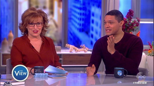 S20E107 Trevor Noah On the View: Mother's Strength, Growing up in Apartheid