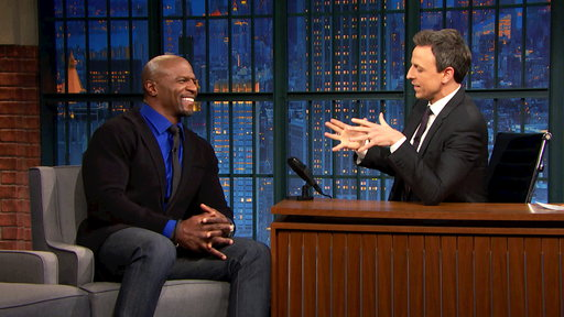 Late Night with Seth Meyers S04E74 Terry Crews, Leighton Meester, Dr. Ben Santer