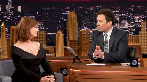 The Tonight Show Starring Jimmy Fallon S04E95 Susan Sarandon, Elijah Wood, Little Big Town