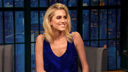 Late Night with Seth Meyers S04E75 Allison Williams, Paul Scheer and Rob Huebel, Paul Beatty