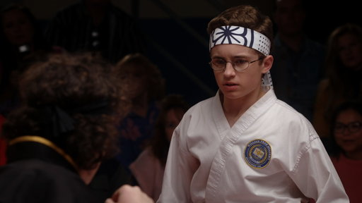 S4E16 Adam Goldberg Karate Kid Fight