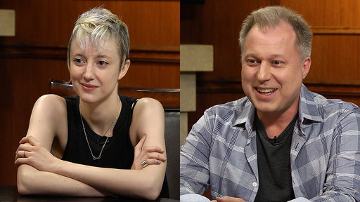 Larry King Now S05E88 Andrea Riseborough and Henry Phillips