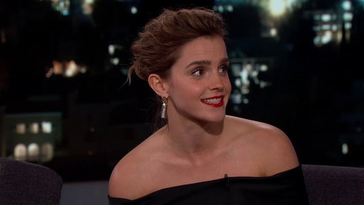 S15E29 Emma Watson On Being Hit With Snowballs & Meeting Idol Celine Dion