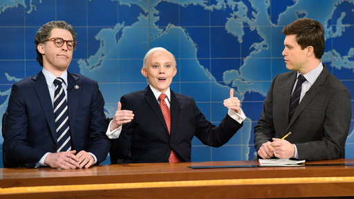 S42E16 Weekend Update: Al Franken and Jeff Sessions