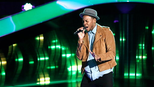 "S12E07 Chris Blue Blind Audition: ""The Tracks of My Tears"""