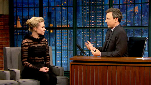 Late Night with Seth Meyers S04E86 Kristen Bell, Bill Nighy, Aquilo