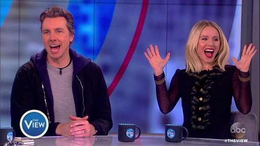 S20E131 'CHiPS' Kristen Bell and Dax Shepard On the View