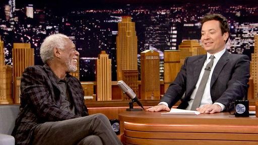 The Tonight Show Starring Jimmy Fallon S04E111 Morgan Freeman, Norman Reedus, Joe Zimmerman