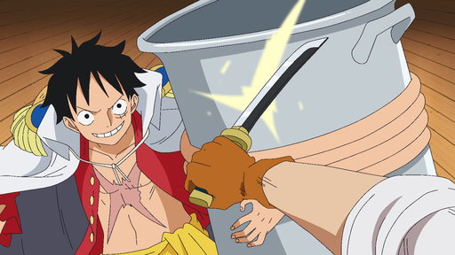 One Piece  S11E781 (Sub) The Implacable Three! A Big Chase After the Straw Hats!
