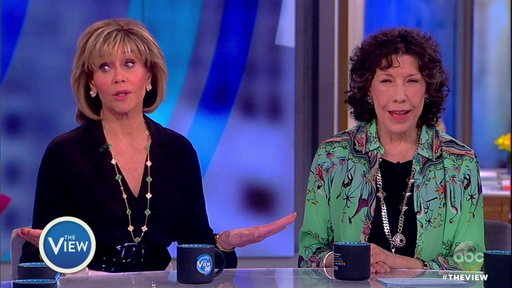 """S20E133 Jane Fonda and Lily Tomlin on the View: Stars of """"Grace and Frankie"""""""
