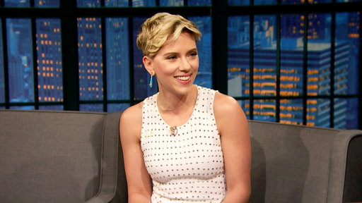 Late Night with Seth Meyers S04E89 Scarlett Johansson, Joe Scarborough & Mika Brzezinski, Mario Batali