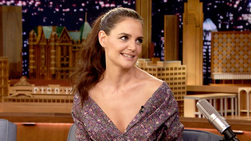 The Tonight Show Starring Jimmy Fallon S04E114 Katie Holmes, Andrew Rannells, Zac Brown Band