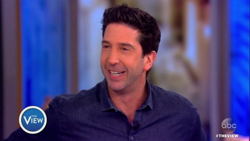 S20E139 David Schwimmer On the View: Reveals New Project #ThatsHarassment