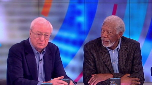 S20E141 Morgan Freeman, Michael Caine and Alan Arkin On the View: Stars of Going in Style