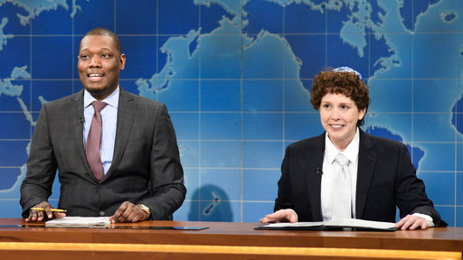 S42E18 Weekend Update: Jacob the Bar Mitzvah Boy on Passover 3