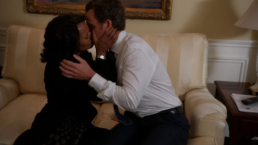 S6E11 Fitz and Olivia Kiss As the Electoral College Selects the Next President