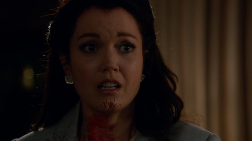 S06E11 Mellie Has a Bloody Encounter With Peus