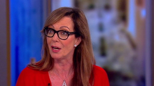 "S20E153 Allison Janney on the View: Talks Trump Run-in and ""Six Degrees of Separation"""
