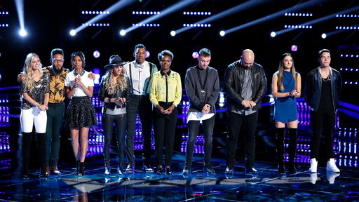 The Voice S12E20 Live Top 12 Eliminations