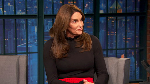 Late Night with Seth Meyers S04E97 Caitlyn Jenner, Buzz Bissinger, Nick Frost