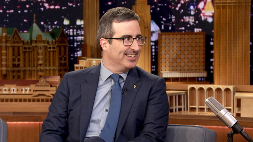 The Tonight Show Starring Jimmy Fallon S04E126 John Oliver, Patton Oswalt, James Arthur