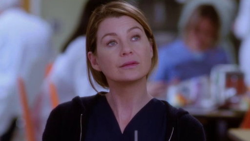 S13E21 Maggie Grills Meredith About Nathan