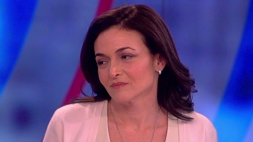 S20E156 Sheryl Sandberg on The View: Coping With the Sudden Death of Her Husband and Book 'Option B'