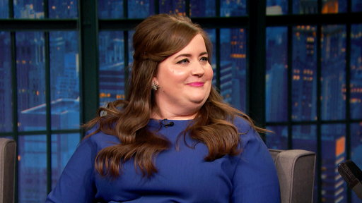 Late Night with Seth Meyers S04E99 Aidy Bryant, Ian McShane, RaeLynn