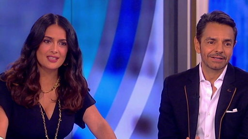 """S20E157 Salma Hayek and Eugenio Derbez On the View: Stars of """"How to Be a Latin Lover"""""""