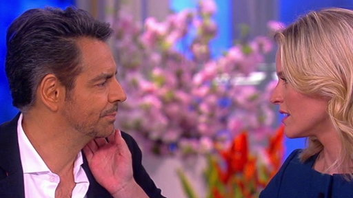 """S20E157 Salma Hayek and Eugenio Derbez Show How Sexy Spanish Can Be On """"The View"""""""