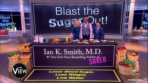"""S20E157 Dr. Ian Smith On the View: Learn How to """"Blast the Sugar Out!"""" and Lose Weight"""