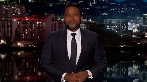 S15E55 Anthony Anderson's Guest Host Monologue On Jimmy Kimmel Live