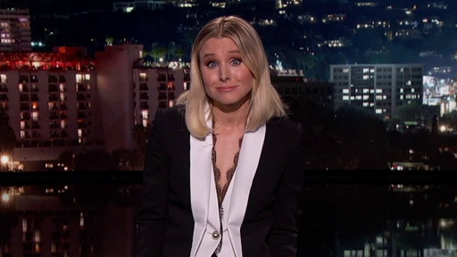 S15E56 Kristen Bell's Guest Host Monologue On Jimmy Kimmel Live