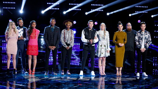 The Voice S12E24 Live Top 10 Eliminations