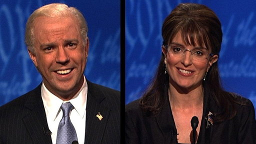 S34E04 VP Debate Open: Palin / Biden